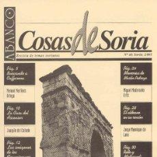 Coleccionismo de Revistas y Periódicos: ABANCO / COSAS DE SORIA Nº 40. Lote 22427222