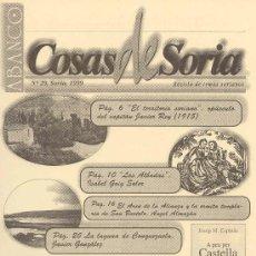 Coleccionismo de Revistas y Periódicos: ABANCO / COSAS DE SORIA Nº 29. Lote 22427409