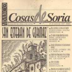 Coleccionismo de Revistas y Periódicos: ABANCO / COSAS DE SORIA Nº 16. Lote 28756120