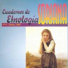 Coleccionismo de Revistas y Periódicos: CUADERNOS DE ETNOLOGÍA SORIANA (SORIA) Nº9. Lote 58380188