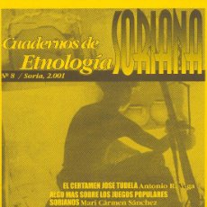 Coleccionismo de Revistas y Periódicos: CUADERNOS DE ETNOLOGÍA SORIANA (SORIA) Nº 8. Lote 58380173