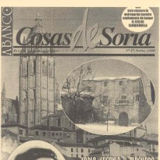 Coleccionismo de Revistas y Periódicos: ABANCO / COSAS DE SORIA Nº 37. Lote 22427931
