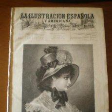 Coleccionismo de Revistas y Periódicos: ILUSTRACION ESPAÑOLA/AMERICANA (08/01/94) MELILLA TOLEDO TANGER VELAZQUEZ MARRUECOS ARGELIA. Lote 25870417