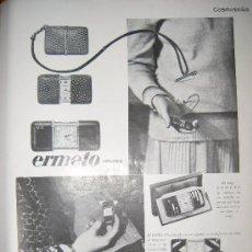 Coleccionismo de Revistas y Periódicos: PUBLICIDAD RELOJ ERMETO DE MOVADO-1929. Lote 22491529