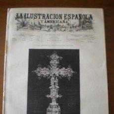 Coleccionismo de Revistas y Periódicos: ILUSTRACION ESPAÑOLA/AMERICANA (22/03/94) AVILA PALENCIA VALDESPINA GRECO SEGOVIA TIPOS MADRILEÑOS. Lote 25913749