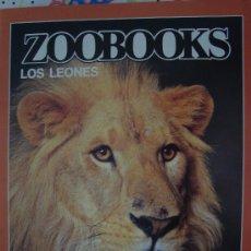 Coleccionismo de Revistas y Periódicos: REVISTA ZOOBOOKS : LOS LEONES. Lote 22534493