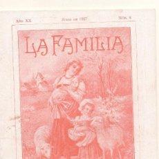 Coleccionismo de Revistas y Periódicos: REVISTA LA FAMILIA- JUNIO 1927. Lote 27437621