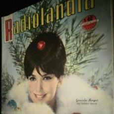 Coleccionismo de Revistas y Periódicos: RADIOLANDIA GRACIELA BORGES . Lote 58120604