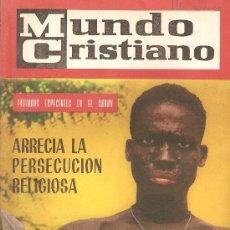 Coleccionismo de Revistas y Periódicos: REVISTA , MUNDO CRISTIANO Nº 3 ABRIL 1963 . Lote 22621986