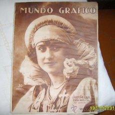Coleccionismo de Revistas y Periódicos: MUNDO GRÁFICO 15 FEBRERO 1922. Lote 24987084