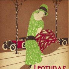 Coleccionismo de Revistas y Periódicos: ILUSTRACIÓN DE CUBIERTA F. RIBAS - 1927. Lote 22753295