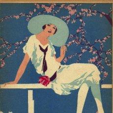 Coleccionismo de Revistas y Periódicos: ILUSTRACIÓN DE CUBIERTA F. RIBAS - 1927. Lote 22753299