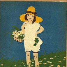 Coleccionismo de Revistas y Periódicos: ILUSTRACIÓN DE CUBIERTA F. RIBAS - 1927. Lote 22753302