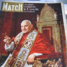 Coleccionismo de Revistas y Periódicos: PARIS MATCH. AÑO 1.962. CONCILIO VATICANO II. JUAN XXIII.. Lote 26979889
