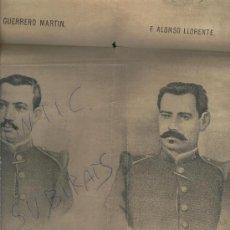 Coleccionismo de Revistas y Periódicos: PERIODICO EL MONTIN AÑO 1883 SARGENTOS FUSILADOS EN SANTO DOMINGO DE LA CALZADA LA RIOJA. Lote 22815739
