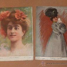 Coleccionismo de Revistas y Periódicos: LOTE 2 REVISTAS BLANCO Y NEGRO. NUM 837 Y 863 DE AÑO 1907.. Lote 25212733