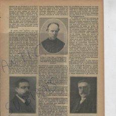 Coleccionismo de Revistas y Periódicos: REVISTA .AÑO 1917.ARENYS DE MAR. P.FIDEL FITA Y COLOME. LAPIDA DE MIGUEL ROMANOS CARRION . EN ZAMORA. Lote 23006063