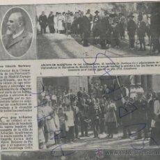 Coleccionismo de Revistas y Periódicos: REVISTA.AÑO 1917.TOLEDO.NANCLARES DE LA OCA.FUENTETODOS.ESCUELAS.ARBUCIAS.EXPLORADORES.ARENYS DE MAR. Lote 23006629