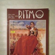 Coleccionismo de Revistas y Periódicos: REVISTA RITMO, NÚMERO 634 DE JULIO-AGOSTO DE 1992.. Lote 22978490