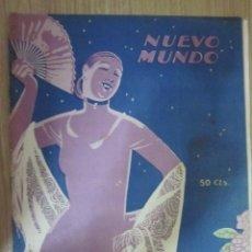 Collectionnisme de Revues et Journaux: EJEMPLAR Nº 1599 DE LA REVISTA .NUEVO MUNDO DEL 12 SEPTIEMBE 1924. Lote 23085514