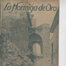 Coleccionismo de Revistas y Periódicos: REVISTA. AÑO 1916. SANT MARTI SARROCA. SAN MARTIN SARROCA. RUINAS DEL CASTILLO. . Lote 23148336