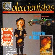 Coleccionismo de Revistas y Periódicos: REVISTA COLECCIONISTAS - NÚMERO 15 - REVISTA MENSUAL - AÑO 1990 - COLECCIONISMO. Lote 27410693