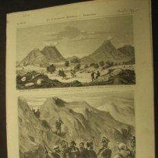 Coleccionismo de Revistas y Periódicos: GRABADOS CARLISTAS. AÑO 1875. LA ILUSTRACIÓN ESPAÑOLA Y AMERICANA.. Lote 23242808