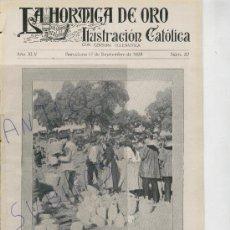 Coleccionismo de Revistas y Periódicos: REVISTA 1928 ALCARAZ ALBACETE CORTES CAN FEU SABADELL FUENSANTA EN MURCIA MONTCADA I REIXACH. Lote 23257303