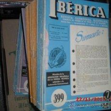 Coleccionismo de Revistas y Periódicos: IBÉRICA - REVISTA QUINCENAL ILUSTRADA. Lote 27570311