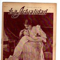 Coleccionismo de Revistas y Periódicos: LA ACTUALIDAD. .1909. NUM 130. Lote 23405302