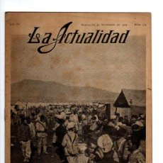 Coleccionismo de Revistas y Periódicos: LA ACTUALIDAD. 1909. NÚM 174.. Lote 23405342