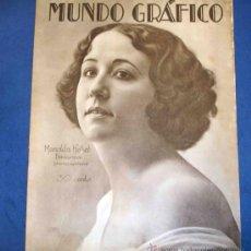 Coleccionismo de Revistas y Periódicos: MUNDO GRÁFICO. YECLA, BENIFAYÓ, SILUETAS TAURINAS, SAN JUAN DE PONGA, CARRIÓN DE LOS CONDES...... Lote 26418178