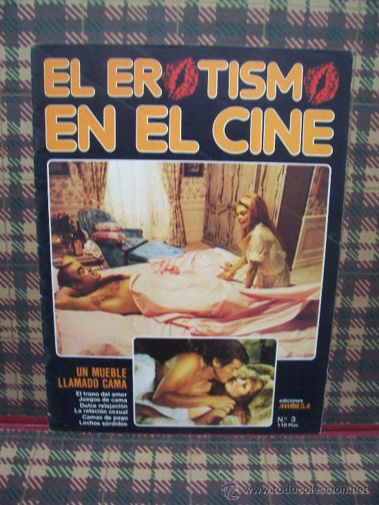EL EROTISMO EN EL CINE - Nº 3 - EDICIONES AMAIKA 1983 (Coleccionismo - Revistas y Periódicos Modernos (a partir de 1.940) - Otros)