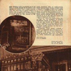 Coleccionismo de Revistas y Periódicos: * BELÉN * GRUTA E IGLESIA DE LA NATIVIDAD, GRUTA DE LOS PASTORES / V. DE DÍEZ VICARIO- 1931. Lote 23632755