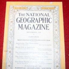Coleccionismo de Revistas y Periódicos: THE NATIONAL GEOGRAPHIC MAGAZINE - ED. USA - SEPTIEMBRE 1930 - EN INGLÉS - YUGOSLAVIA, FILIPINAS.... Lote 26442788