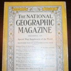 Coleccionismo de Revistas y Periódicos: THE NATIONAL GEOGRAPHIC MAGAZINE - ED. USA - DICIEMBRE 1935 - EN INGLÉS - AUSTRALIA, ADEN.... Lote 26575885