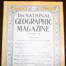 Coleccionismo de Revistas y Periódicos: THE NATIONAL GEOGRAPHIC MAGAZINE - ED. USA - DICIEMBRE 1928 - EN INGLÉS - ALEMANIA, FALCON ISLAND.... Lote 26494832