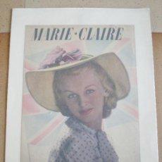 Coleccionismo de Revistas y Periódicos: HOJA PORTADA MARIE CLAIRE 1938 . Lote 23869672