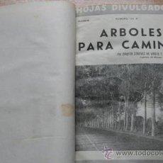 Coleccionismo de Revistas y Periódicos: HOJAS DIVULGADORAS. AÑO 1951. MINISTERIO DE AGRICULTURA. PUBLICAIONES DE CAPACITACIÓN AGRÍCOLA.. Lote 26486171