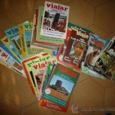 Coleccionismo de Revistas y Periódicos: LOTE DE 43 NUM. DE REVISTA VIAJAR. VER FOTOS. Lote 23909744