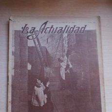 Coleccionismo de Revistas y Periódicos: REV, LA ACTUALIDAD ,ENTRADA DE LA CUARESMA Nº 135 FOTO: FERNANDEZ. Lote 23920407