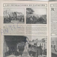 Coleccionismo de Revistas y Periódicos: REVISTA AÑ 1908 INUNDACIONES EN PALAMOS VICENTE BLASCO IBAÑEZ JULIO ROMERO DE TORRES OSLE CHICHARR0. Lote 23938562