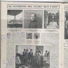 Coleccionismo de Revistas y Periódicos: REVISTA 1908 GLOBO QUO VADIS DUQUE DE CONNAUGHT JOAQUIN COSTA LA GLEVA LA CORDOBA ARABE MANEN VIOLIN. Lote 23938920