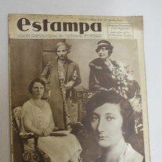 Coleccionismo de Revistas y Periódicos - revista estampa- 11 princesas buscan novio- num:341 - 24050565