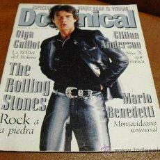 Coleccionismo de Revistas y Periódicos: REVISTA : DOMINICAL AÑO 1.998 PORTADA MICK JAGGER REPORT.DANA INTERN.BORA MILUTINOVIC. Lote 25801642