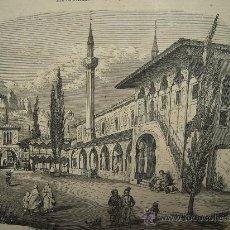 Coleccionismo de Revistas y Periódicos: EL PALACIO DEL ANTIGUO TATARKAN DE LA CRIMEA EN BACKTSCHISRAI - 1855. Lote 25482149