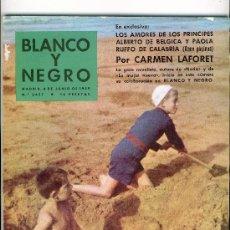 Coleccionismo de Revistas y Periódicos: REVISTA BLANCO Y NEGRO .JUNIO DE 1959. Lote 25616895