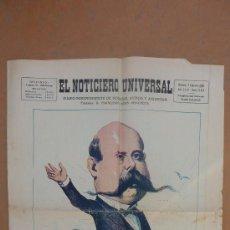 Coleccionismo de Revistas y Periódicos: DIARIO ANTIGUO EL NOTICIERO UNIVERSAL. 7 FEBRERO DE 1930. . Lote 27588028