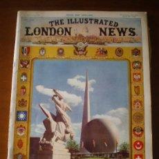 Coleccionismo de Revistas y Periódicos: THE ILLUSTRATED LONDON NEWS Nº 5.219 (29/4/39) GUERRA MUNDIAL NEW YORK ARMADA ALEMANA WHISKY HITLER . Lote 24182368