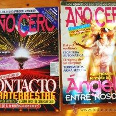 Coleccionismo de Revistas y Periódicos: LOTE 2 REVISTAS AÑO CERO. Lote 26245889